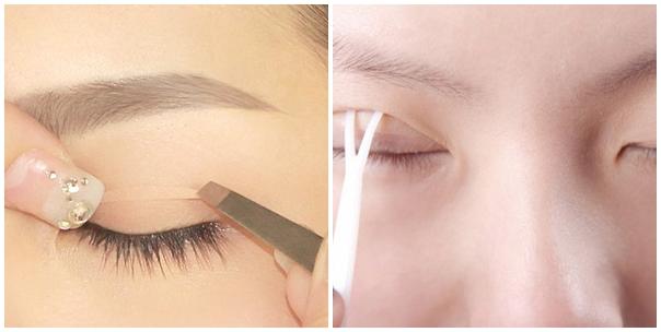 Để giúp đôi mắt to cuốn hút, sao Hàn cũng thường sử dụng gel kích mí