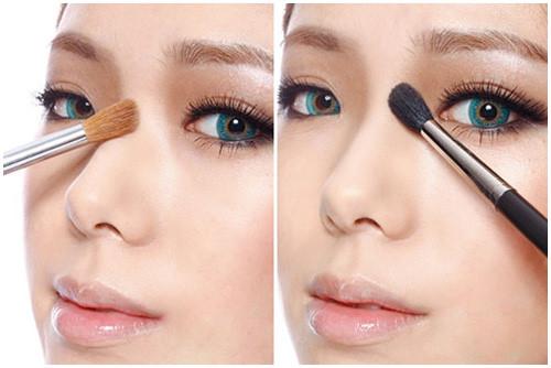 Make-up tạo hình mũi thon gọn chính là một giải pháp đánh lừa thị giác hoàn hảo.